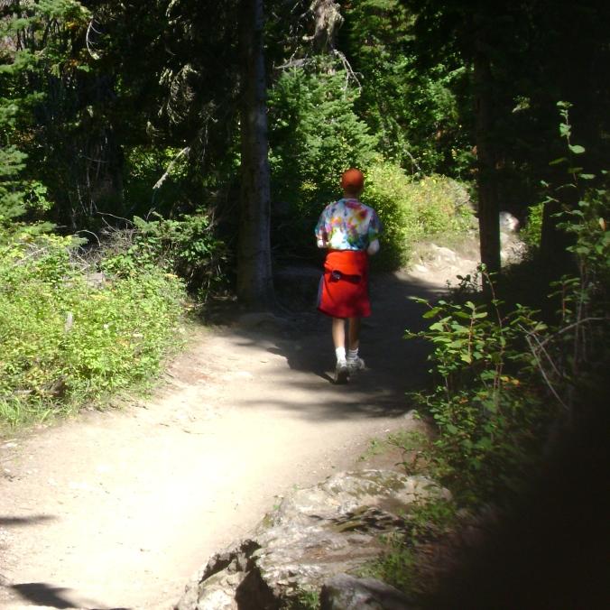 Natural Bridge Trail Yellowstone National Park
