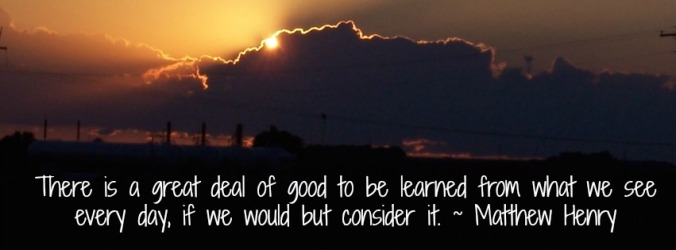 There Is A Great Deal of Good to Be Learned